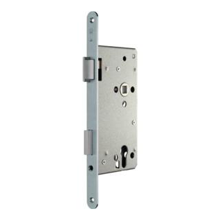 Haustür-Einsteckschloss PZW 22/65/92/10mm DIN L silber ktg.