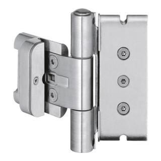 Haustürband BAKA protect 3D FD STA weißaluminium 120kg Holzhaustüren