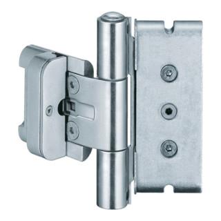 Haustürband BAKA protect 3D STA weißaluminium 120kg Holzhaustüren