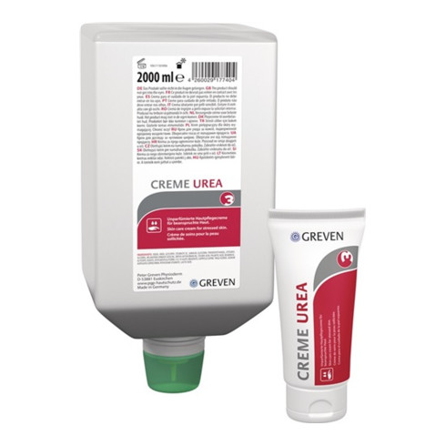 Hautpflegecreme GREVEN® CREME UREA 100 ml silikon-/parfümfrei LIGANA