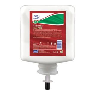 Hautpflegecreme Stokolan® Light PURE 1l duft-/farbstofffrei Kartusche