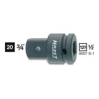 Hazet Adapter maschinenbetätigt 9007S-1 ·  Vierkant hohl 12,5 mm (1/2 Zoll)