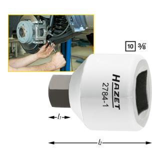 Hazet Bremssattel-Schraubendreher-Steckschlüssel-Einsatz 2784-1 · s: 7 mm