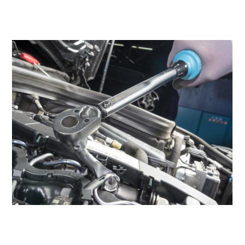 HAZET Drehmoment-Schlüssel 5110-2CT, 10-60 Nm, 4% Toleranz, Vierkant massiv, 10 mm (3/8 Zoll)