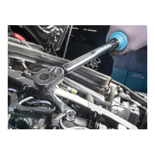 HAZET Drehmoment-Schlüssel 5120-2CT Nm min-max: 10-60 Nm Toleranz: 4% Vierkant massiv 12,5 mm (1/2 Zoll)