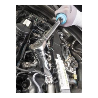 HAZET Drehmoment-Schlüssel 5122-2CT Nm min-max: 40-200 Nm Toleranz: 4% Vierkant massiv 12,5 mm (1/2 Zoll)