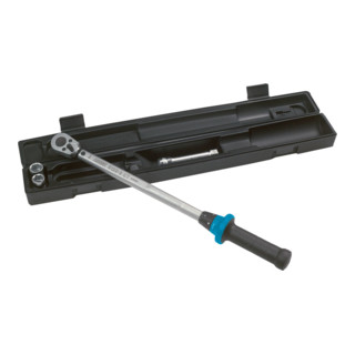 HAZET Drehmoment-Schlüssel-Satz 40–200Nm 5122-2CT/5 ∙ Anzahl Werkzeuge: 5