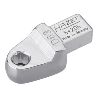HAZET Einsteck-Halter für Bits 6420B Einsteck-Vierkant 9 x 12 mm Sechskant hohl 6,3 (1/4 Zoll)