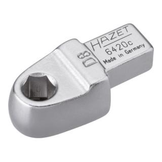 HAZET Einsteck-Halter für Bits 6420C Einsteck-Vierkant 9 x 12 mm Sechskant hohl 8 mm (5/16 Zoll)