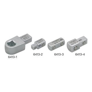 HAZET Einsteck-Vierkant-Halter 6413-1 Einsteck-Vierkant 9 x 12 mm Vierkant massiv 10 mm (3/8 Zoll)