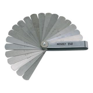 Hazet Fühlerlehre 2147 · l: 106 mm