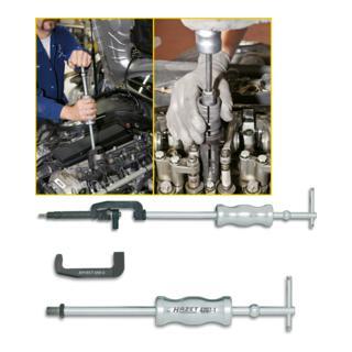 Hazet Injektor-Abzieher 4797/2 · l: 460 mm Anwendungsvideo vorhandenZylinderkopf (Ventile)
