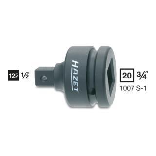 Hazet Kraft-Adapter 1007S-1 ·  Vierkant hohl 20 mm (3/4 Zoll)