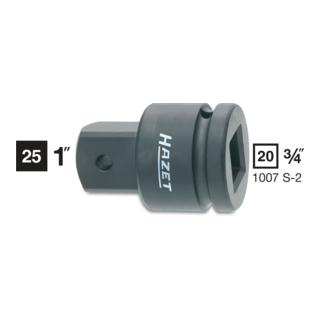 Hazet Kraft-Adapter 1007S-2 ·  Vierkant hohl 20 mm (3/4 Zoll)
