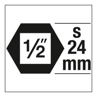 HAZET Kraftsteckschlüsseleinsatz 1/2'' XZN