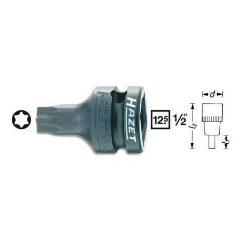 """HAZET Kraftsteckschlüsseleinsatz 1/2"""" Innen-TORX®"""