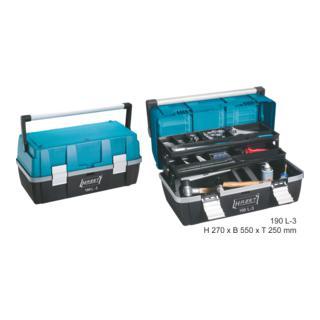 Hazet Kunststoff-Werkzeugkasten 190L-3 Allgemeine Werkstattausrüstung