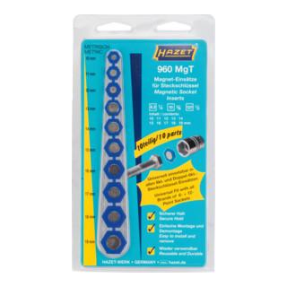 HAZET Magnet-Einsatz für Steckschlüssel 960MGT Außen-Sechskant Profil