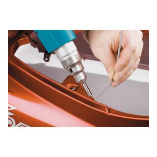 HAZET Premium-Heißluft-Handgerät 1990-2/6 Anzahl Werkzeuge: 6