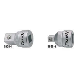 Reduzierstück 8858-2 Vierkant hohl 10 mm (3/8 Zoll) Vierkant massiv 6,3 mm (1/4 Zoll)