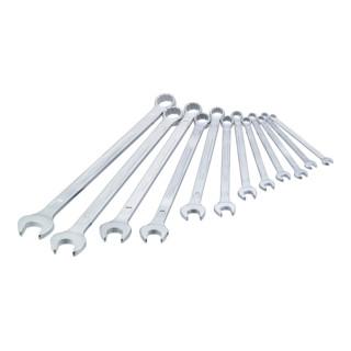 HAZET Ring-Maulschlüssel extra lang schlanke Bauform  600LG/12-tlg.