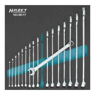 Hazet Ring-Maulschlüssel-Satz 6-24 mm