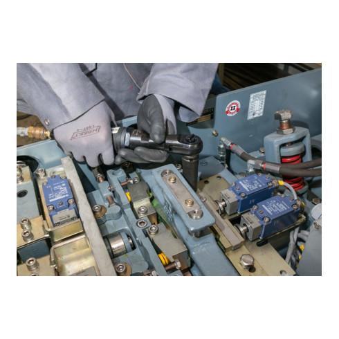 HAZET Schlag-Ratschenschrauber 9022SR-1 Vierkant massiv 12,5 mm (1/2 Zoll) Hochleistungs-Stift-Schlagwerk