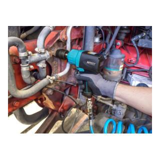 HAZET Schlagschrauber 9013M Lösemoment maximal: 1890 Nm Vierkant massiv 20 mm (3/4 Zoll) Hochleistungs-Doppelhammer-Schlagwerk