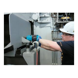 HAZET Schlagschrauber 9013MG Lösemoment maximal: 1800 Nm Vierkant massiv 20 mm (3/4 Zoll) Hochleistungs-Doppelhammer-Schlagwerk