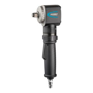 HAZET Schlagschrauber, abgewinkelt 9012A-1 ∙ Lösemoment maximal: 450 Nm ∙ Vierkant massiv 12,5 mm (1/2 Zoll) ∙ Jumbo Hammer-Schlagwerk