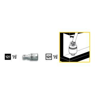 Hazet Schwenkbare Verlängerung 919-1 ·  Vierkant hohl 12,5 mm (1/2 Zoll)