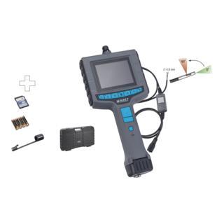 Hazet Video-Endoskop mit 4,9mm Durchmesser Umschalt-Sonde, 4teilig
