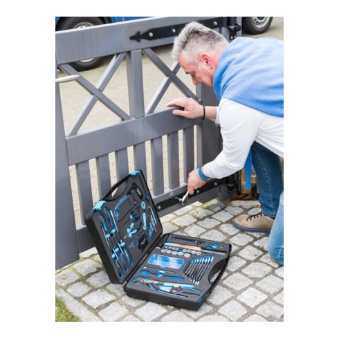 HAZET Werkzeug-Koffer 1520/56 Anzahl Werkzeuge: 56