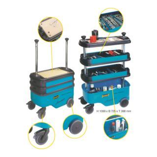 Hazet Werkzeug-, Material- und Montagewagen 162C