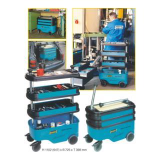 Hazet Werkzeug-, Material- und Montagewagen 166C