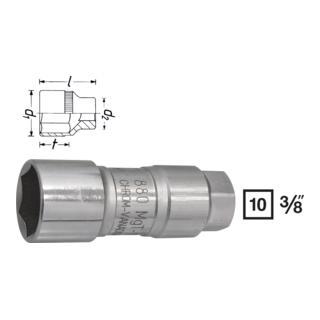Hazet Zündkerzen-Steckschlüssel-Einsatz 880MGT-18 · s: 18 mm ·  Vierkant hohl 10 mm (3/8 Zoll)