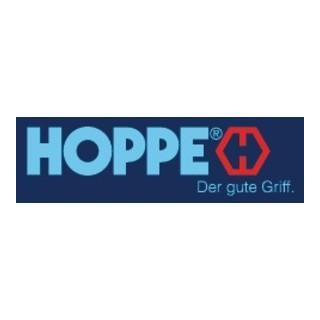 Hebe-Schiebetür-Garnitur NY HS-0810/431N/422 Alu.F9 bl.70-75mm HOPPE