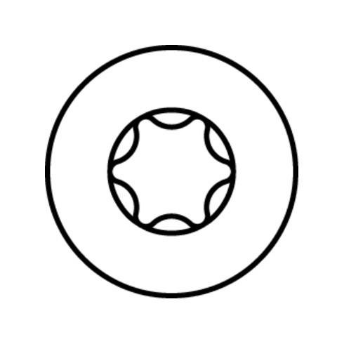 HECO-TOPIX-plus A2 Glasleistenschraube, T-Drive, TG