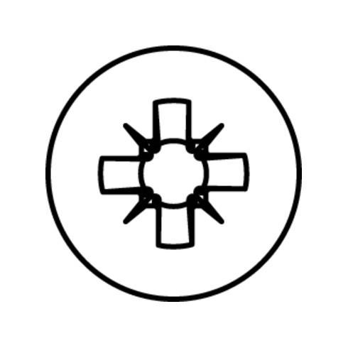 HECO-TOPIX-plus A2 Senkkopf, Pozi-Drive, TG