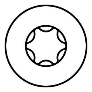 HECO-TOPIX-plus Senkkopf, HECO-Drive, VG, A2K