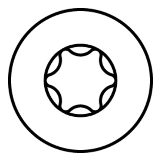 HECO-UNIX-top FlaKo TD zn blau Fräst