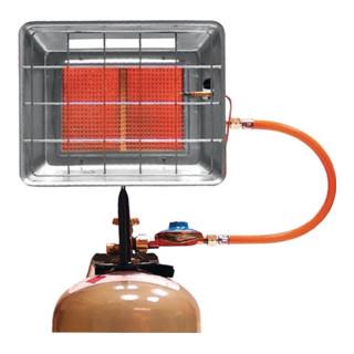 Heizstrahler Anschlussdruck 50 mbar Gewicht ca.2,4kg Leistung 4,2kW