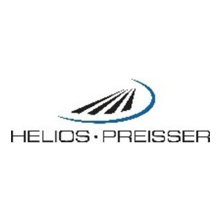 Helios Preisser 0715 Messeinsätze mit Hartmetallkugel Länge 14,5 mm