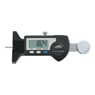Helios Preisser Digitaler Kleintiefenmessschieber 25 mm, Brückenlänge 48 mm