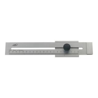 Helios Preisser Streichmaß flach rostfrei 200 mm