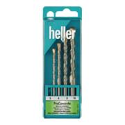 Heller Betonbohrer-Satz 4-teilig 5-10mm