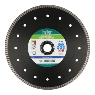 Heller Tools Diamond Blade Ceramic Performance