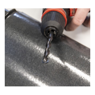 Heller Tools Rooftile Expert Dachziegelbohrer, ROTASTOP, Ø 8 x 80/120 mm, 10 + 1!