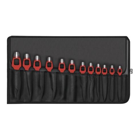 Henkellocheisensatz DIN 7200-A 8-tlg.Rolltasche