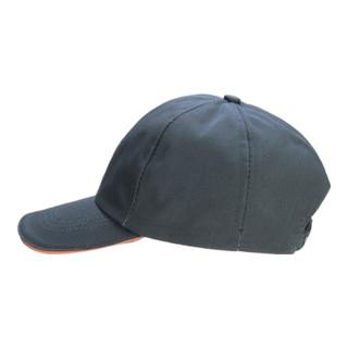 Herren-Cap Gr.59/60 grau/orange 65%PES/35%CO verstellb.